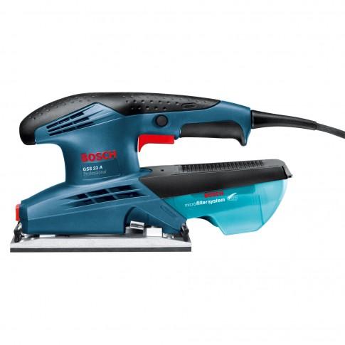 Slefuitor cu vibratii, Bosch Professional GSS 23A,  190 W
