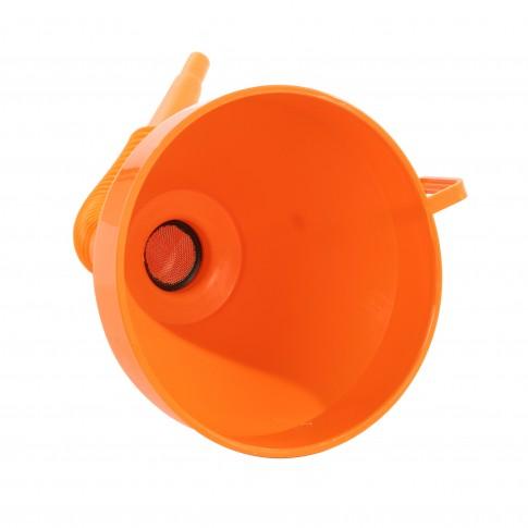 Palnie din plastic, pentru combustibil, cu furtun flexibil, Pressol