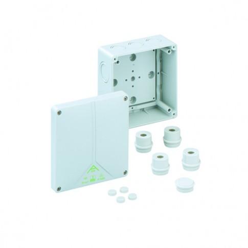 Doza derivatie ABOX100-L 810-910, IP65, 140 x 140 x 79 mm