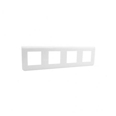 Rama Legrand Mosaic 078808, 4x2 module, alb