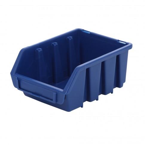 Cutie pentru depozitare, Patrol Ergobox 2, albastru, 110 x 165 x 75 mm