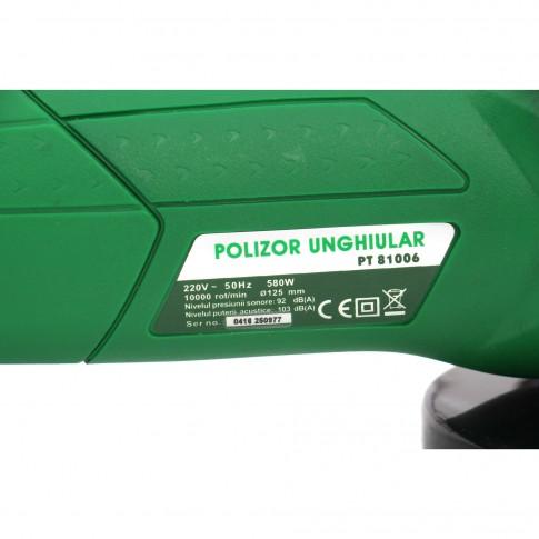 Polizor unghiular Hobbyst PT81006, 580 W