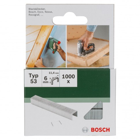 Capse pentru PTK 14E, Bosch, Type 53, 6 mm, set 1000 bucati