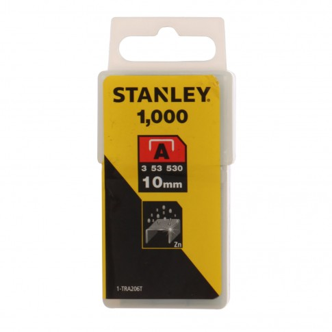 Capse tip A, Stanley, 10 mm, set 1000 bucati