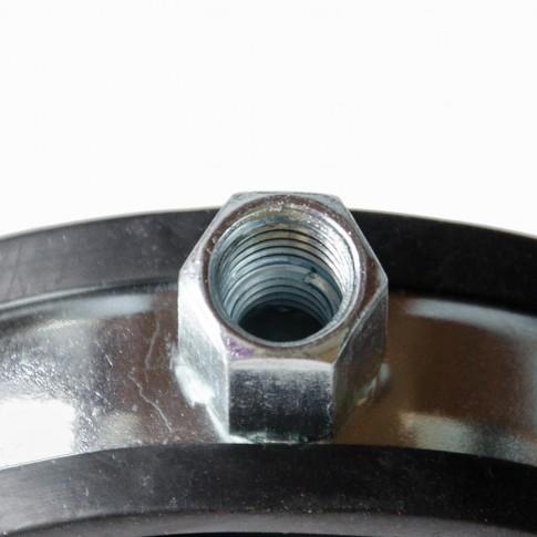 Colier metalic pentru tevi, cu garnitura de cauciuc, Fischer, 85 - 92 mm