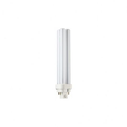 Bec economic G24q-3 Philips Master PL-C 4P 26W lumina neutra