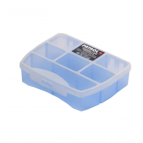 Organizator Patrol Domino 12 Soft Blue, 120 x 100 x 30 mm
