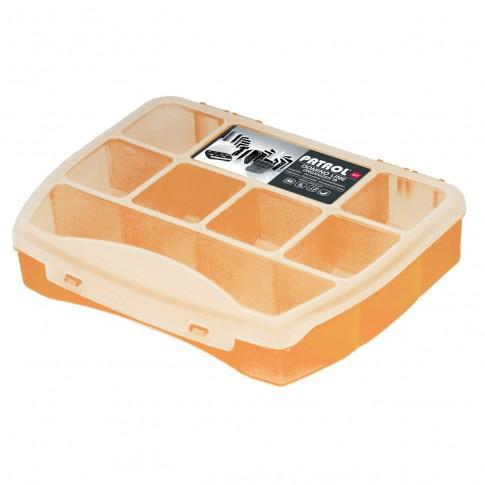 Organizator Patrol Domino 19 Soft  Orange, 190 x 155 x 37 mm