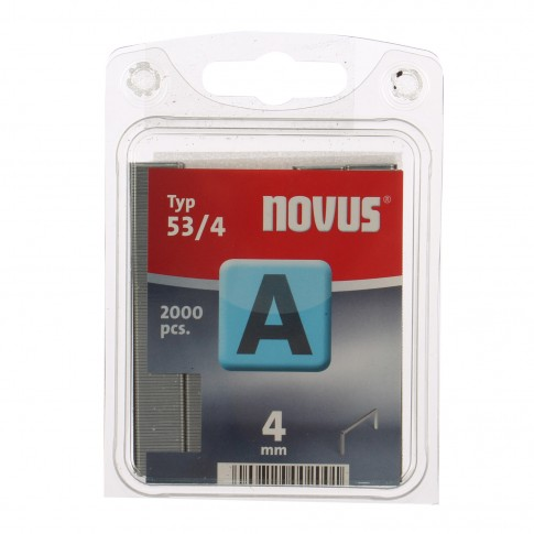 Cleme subtiri, Novus A 53, 4 mm, set 2000 bucati