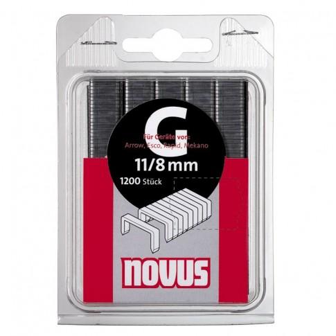 Cleme plate, Novus G 11, 8 mm, set 1200 bucati