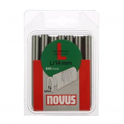 Cleme pentru cablu, Novus L, 14 mm, set 840 bucati