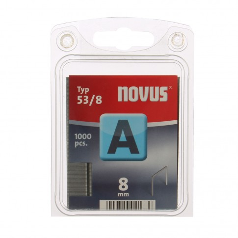 Cleme subtiri, Novus A 53, 8 mm, set 1000 bucati