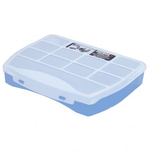 Organizator Patrol Domino 25 Soft  Blue, 250 x 200 x 44 mm