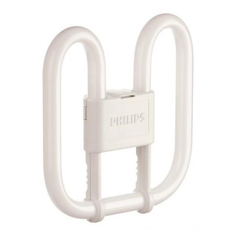 Lampa economica Philips Master PL-Q 4P GR10Q 38W 2800lm lumina calda 3500 K, compatibil cu droser dimabil