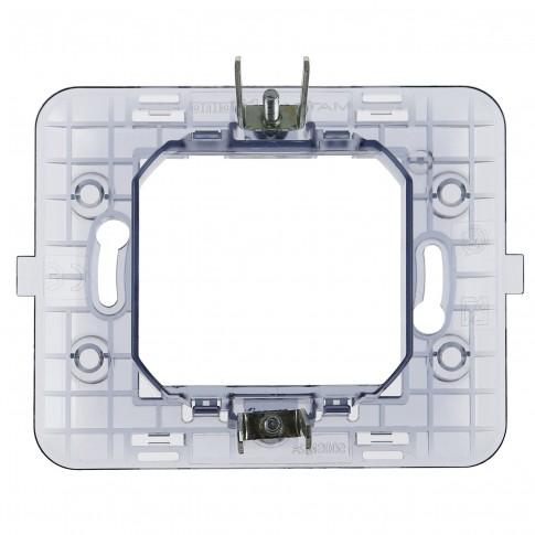 Suport Bticino Matix S500SM2AE, 2 module, pentru rama priza / intrerupator