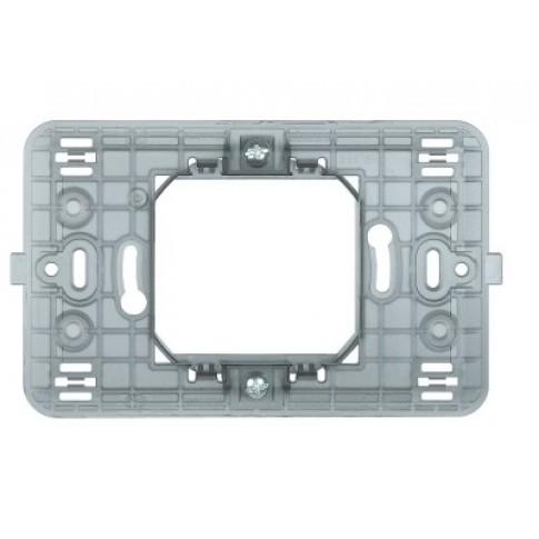 Suport Bticino Matix 503S/2A, 2 module centrate, pentru rama priza / intrerupator