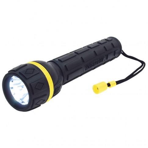 Lanterna Home PLR 01, alimentare baterii (2 x AA), cu protectie la apa