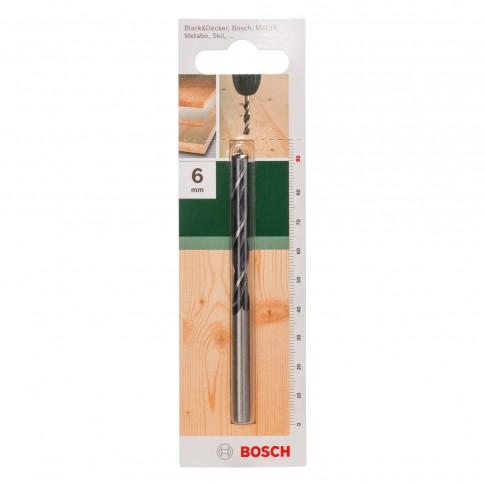 Burghiu pentru lemn, Bosch 2609255203, 6 x 55 x 92 mm