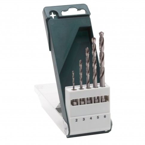 Burghiu pentru metal, Bosch 2609255127, 2 - 6 mm, set 5 bucati