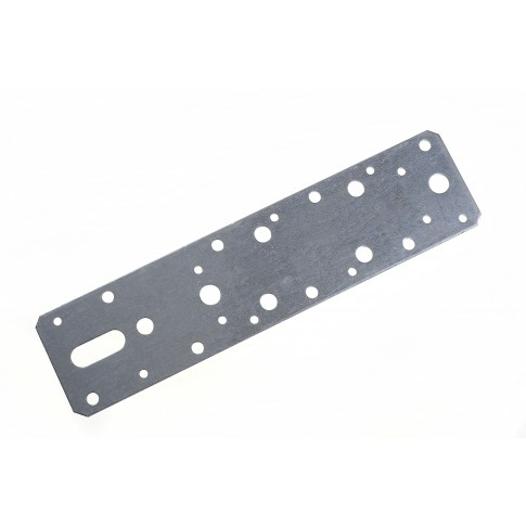 Element de imbinare plat, pentru constructii din lemn, din otel zincat, 240 x 60 mm