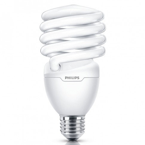 Bec economic Philips Tornado spiralat T3 E27 32W 2255lm lumina calda 2700 K