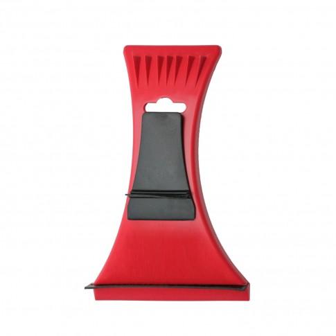 Racleta gheata VGT, cu minicuratator, plastic + cauciuc, 16 x 11 cm