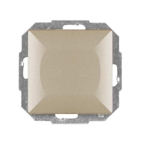 Intrerupator cap scara simplu Abex Perla WP-5P SA, incastrat, satin