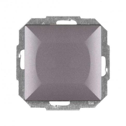 Intrerupator cap scara simplu Abex Perla WP-5P AN, incastrat, antracit