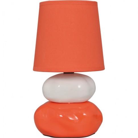 Veioza Omar KL 0502, 1 x E14, orange + alb