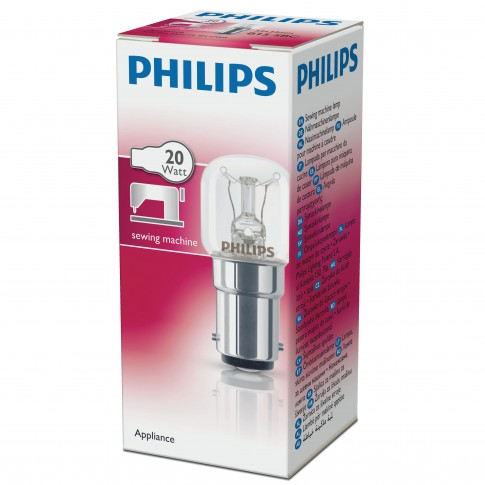 Bec pentru masina de cusut Philips Appliance T22X51 Cl SM B15D 20W 120lm lumina calda 2700 K