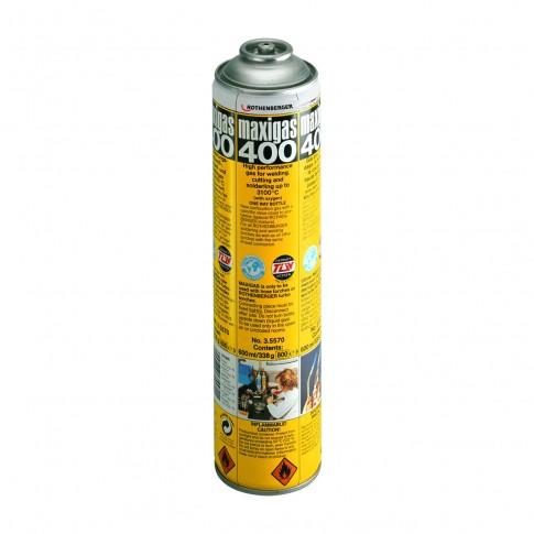 Butelie gaz, Rothenberger Maxigas 400, 600 ml