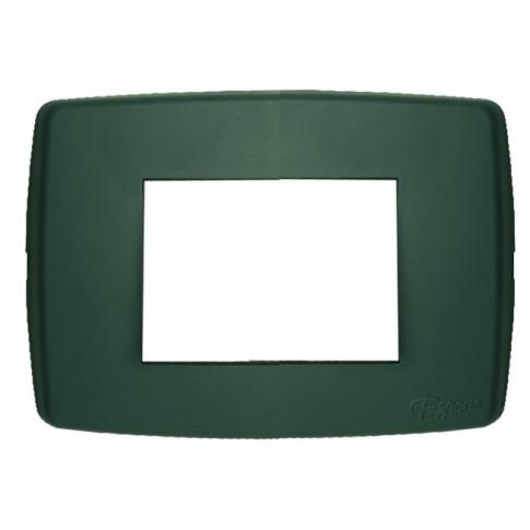 Rama Esperia 300556-31, 4 module, verde, pentru priza / intrerupator