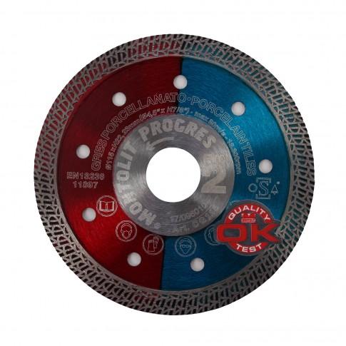 Disc  diamantat, continuu, pentru debitarea placi ceramice, Montolit CG115, 115 x 22.23 mm