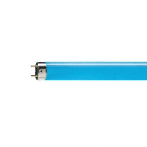 Neon 18W Philips Master TL-D Color G13 lumina albastra 589 mm