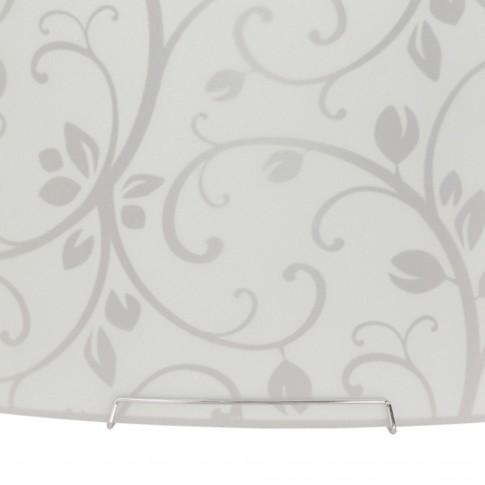 Plafoniera Tamara KL 6041, 2 x E27, 30 x 30 cm, alba