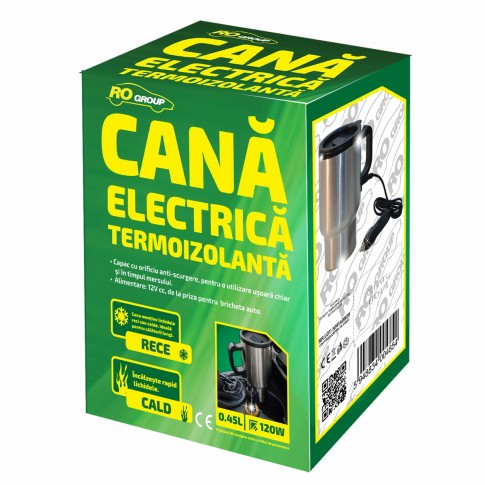 Cana electrica RoGroup EL1624, 45 C, 12 V