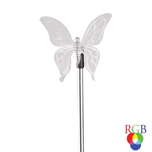 Lampa solara fluture