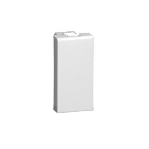 Obturator Legrand Mosaic 077070, 1 modul, alb, pentru priza / intrerupator