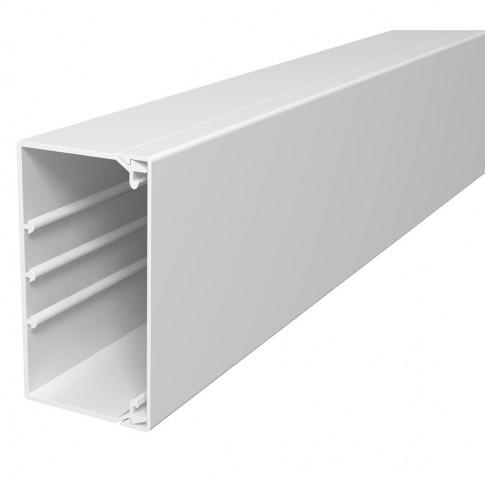 Canal cablu baza perforata WDK60110RW 6191215, 60 x 110 mm, alb