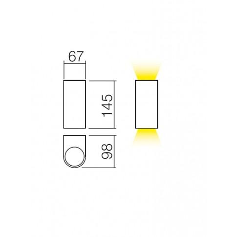 Aplica exterior Scan 9352, 2 x GU10