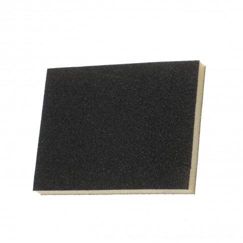 Burete abraziv, pentru uz general, Carboas SB2F, 100 x 125 x 12 mm, granulatie 100, set 2 bucati