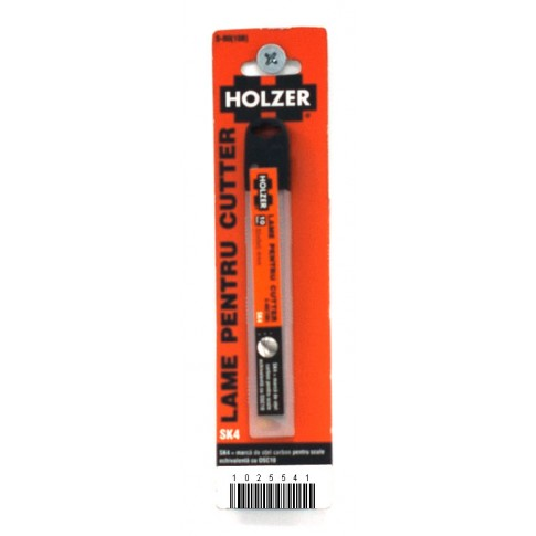 Lame cutter, Holzer S-80, 9 mm, set 10 bucati