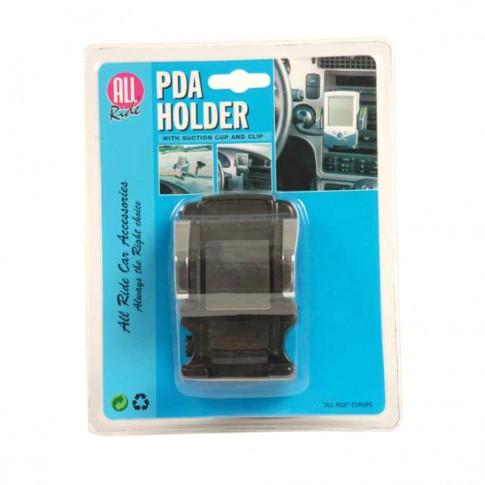Suport auto pentru PDA, All Ride, plastic, negru/crom