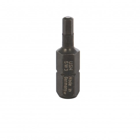 Biti pentru insurubare, profil hexagonal, USH, SW 3, 25 mm, set 2 bucati