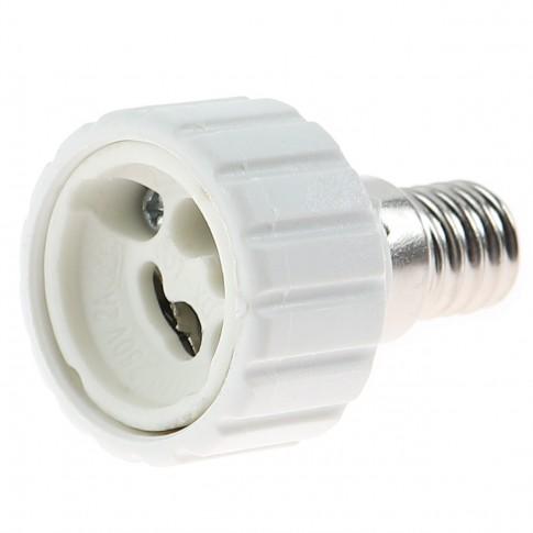 Adaptor dulie E14 - GU10 ceramica si plastic Home