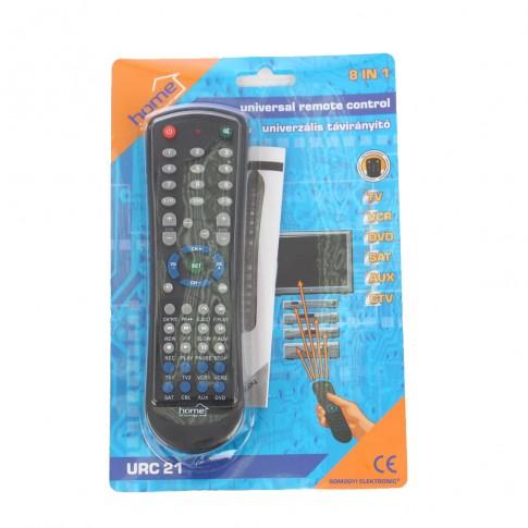 Telecomanda universala 8 in 1 URC 21, neagra