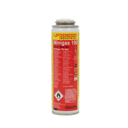 Butelie Rothenberger Minigas 100, 150 ml