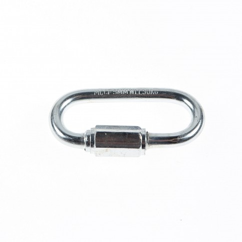 Carabina rapida, din otel zincat, Cablero CD061L05U, grosime 5 mm, set 2 bucati