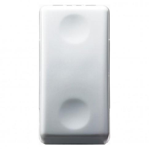 Intrerupator cu revenire Gewiss System GW20510, incastrat, modular - 1, alb