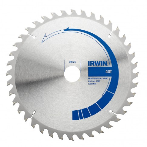 Disc circular, pentru lemn, Irwin, 165 x 30/20 mm
